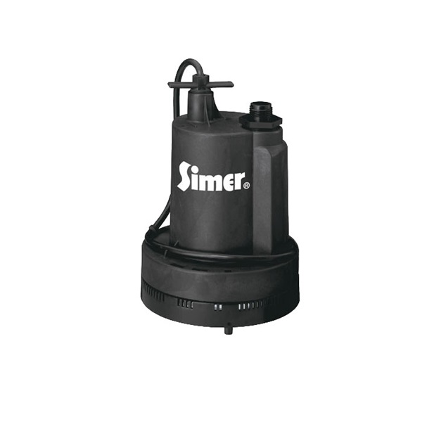 Picture of Pentair 2305 Submersible Utility Pump, 115 VAC, 1/4 hp, 1320 gph, Thermoplastic