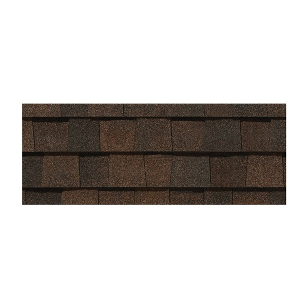 Picture of CertainTeed Landmark LMBS Roof Shingle, 38-3/4 in L, 13-1/4 in W, Fiberglass, Burnt Sienna
