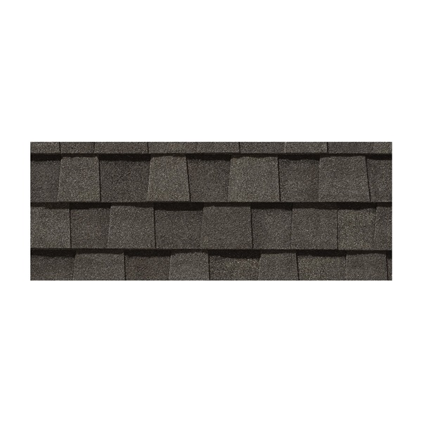 Picture of CertainTeed Landmark LMDW Roof Shingle, 38-3/4 in L, 13-1/4 in W, Fiberglass, Driftwood