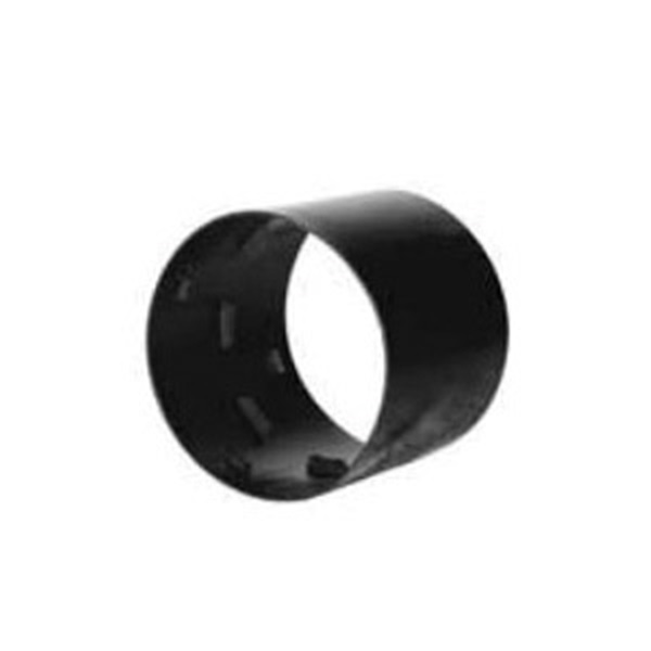 Picture of ADS N-12 Series 0412AA Coupling, 4 in, Snap x Snap, Polyethylene, Black