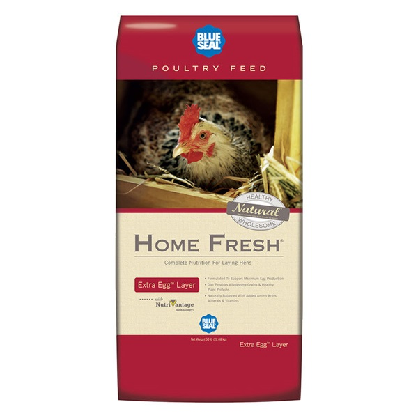 Picture of Blue Seal Home Fresh 2382 Poultry Feed, Pellet, 50 lb Package, Bag