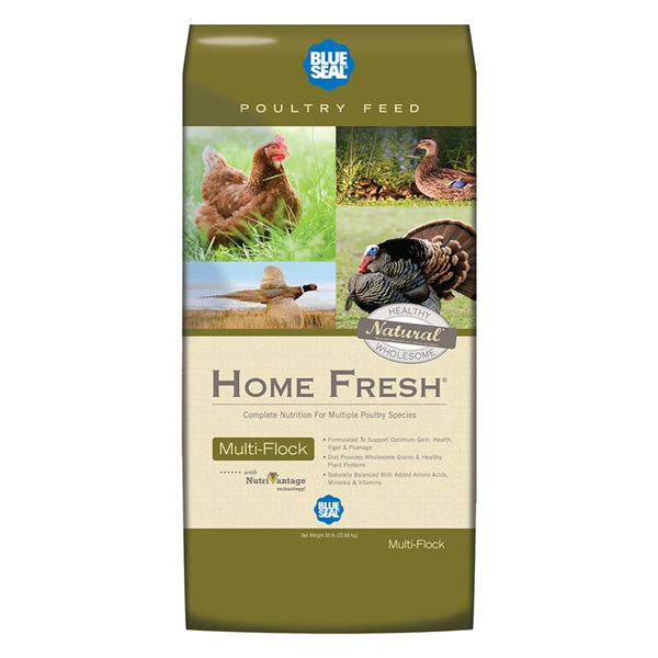 Picture of Blue Seal Home Fresh 2392 Chick N Game Starter Grower, Crumble, 50 lb Package, Bag