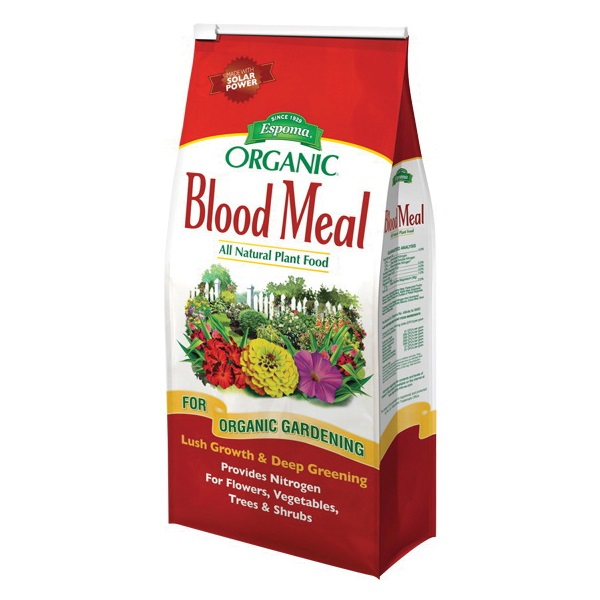 Picture of ESPOMA DB03 Blood Meal Fertilizer, Earthy, 3 lb Package, Bag