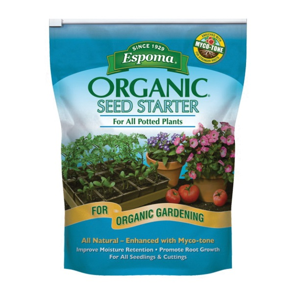 Picture of ESPOMA SS16 Seed Starter, Black/Brown, 16 qt Package, Bag
