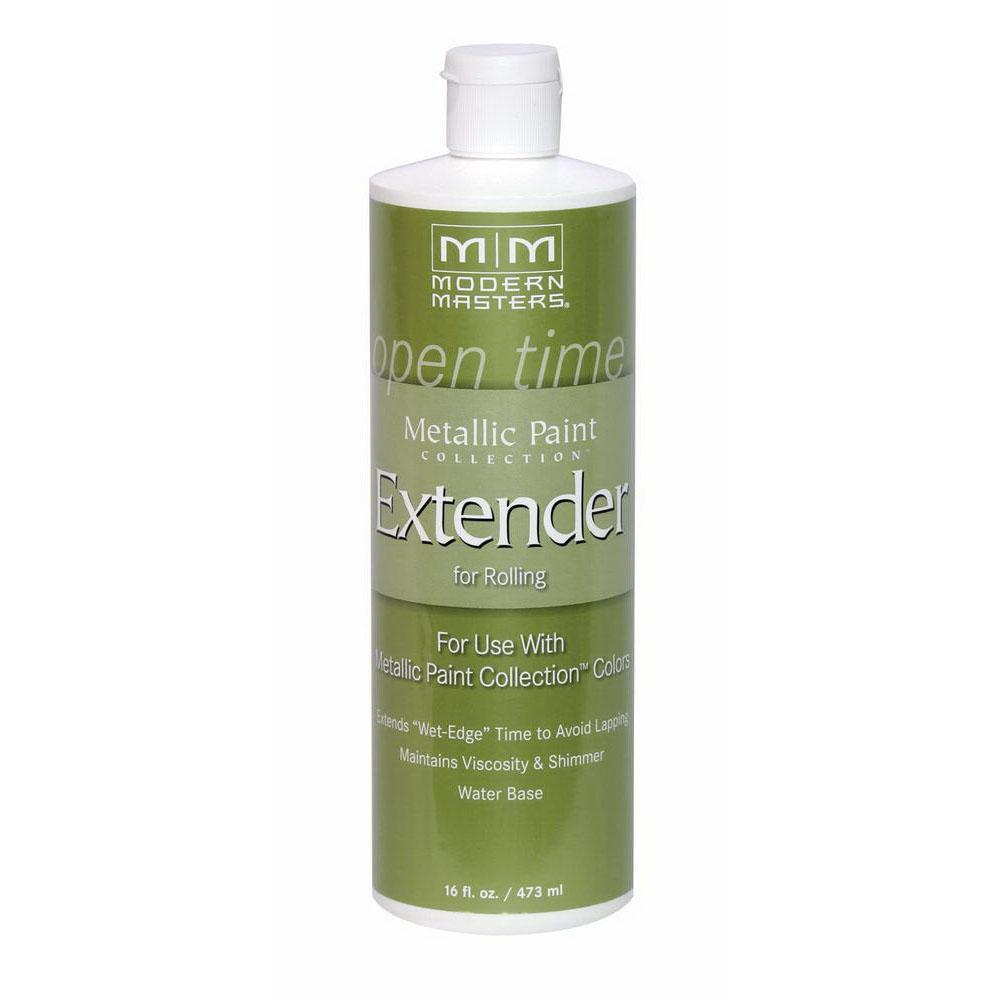 Picture of MODERN MASTERS ME651-16 Metallic Paint Extender, Satin, Liquid, 16 oz