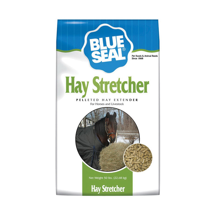 Picture of Blue Seal 494 Hay Stretcher Horse Feed, Adult, Senior Lifestage, Pellet, 50 lb Package, Bag