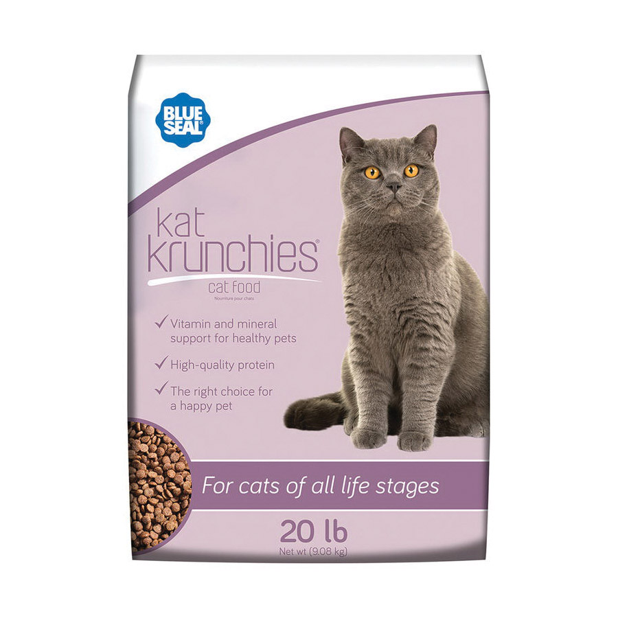 Picture of Blue Seal 167-20 Cat Food, 20 lb Package, Bag
