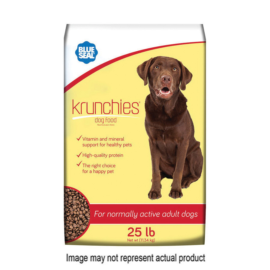 Picture of Blue Seal 11112 Krunchies Dog Food, Dry, 5 lb Package, Bag