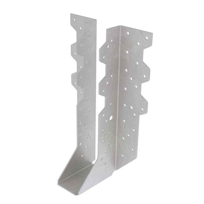 Picture of MiTek THD414 Truss Hanger, 12-7/8 in H, 3 in D, 3-5/8 in W, Steel, Galvanized, Face Mounting