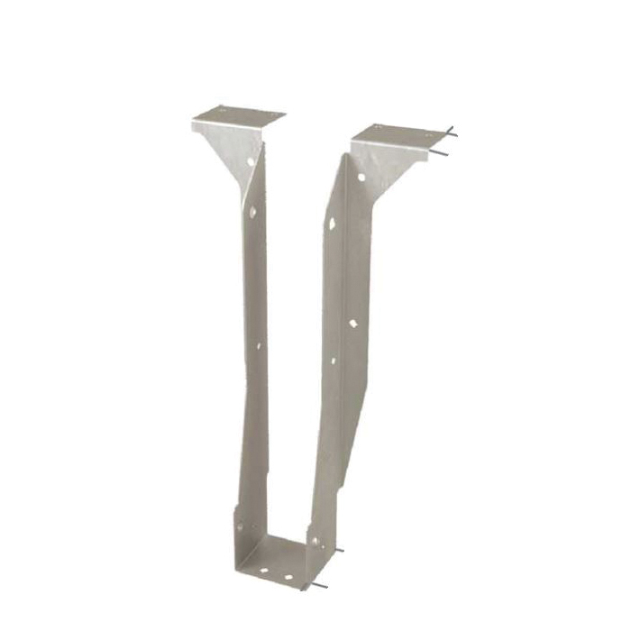 Picture of MiTek THO25118-2 Hanger, 11-7/8 in H, 3 in D, 5-1/8 in W, Steel, Galvanized, Top Mounting
