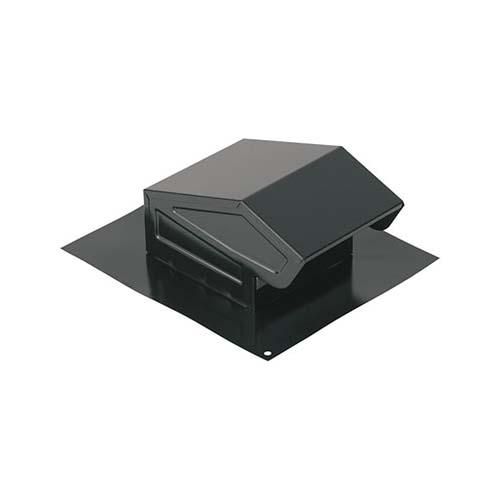 Picture of Broan 636C Roof Cap, Steel, Black, Enamel
