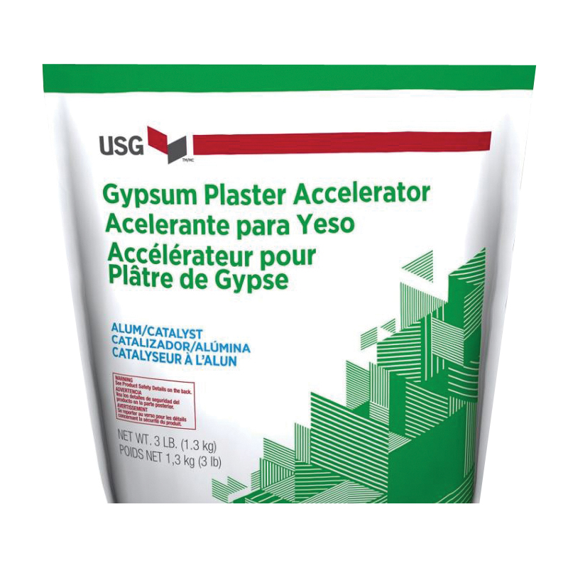 Picture of USG 160216 Plaster Accelerator, Powder, White, 3 lb Package