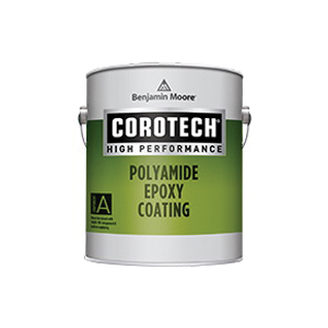 Picture of Benjamin Moore COROTECH V400.75.1 Polyamide Epoxy Coating, Gloss, Gray, 1 gal
