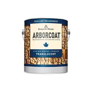 Picture of Benjamin Moore ARBORCOAT W62330-001 Translucent Exterior Stain, Flat, Liquid, 1 gal