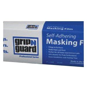 Picture of Grip-N-Guard 994377 Self-Adhering Masking Film, 400 ft L, 9 ft W, Polyethylene Backing