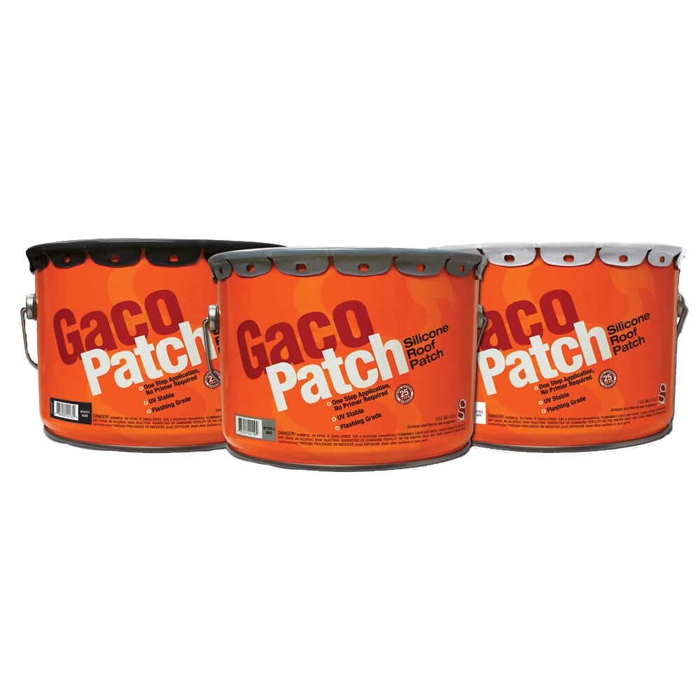 Picture of Gaco GACOP P Roof Patch, Gray, Liquid, 2 gal Package