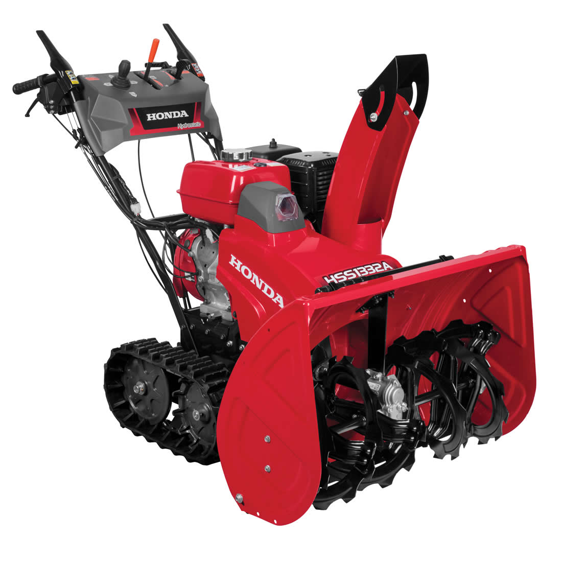 Picture of Honda HSS1332AAT Snow Blower, Gas, 389 cc Engine Displacement, 4-Cycle OHV Engine, 2 -Stage, 56 ft Throw