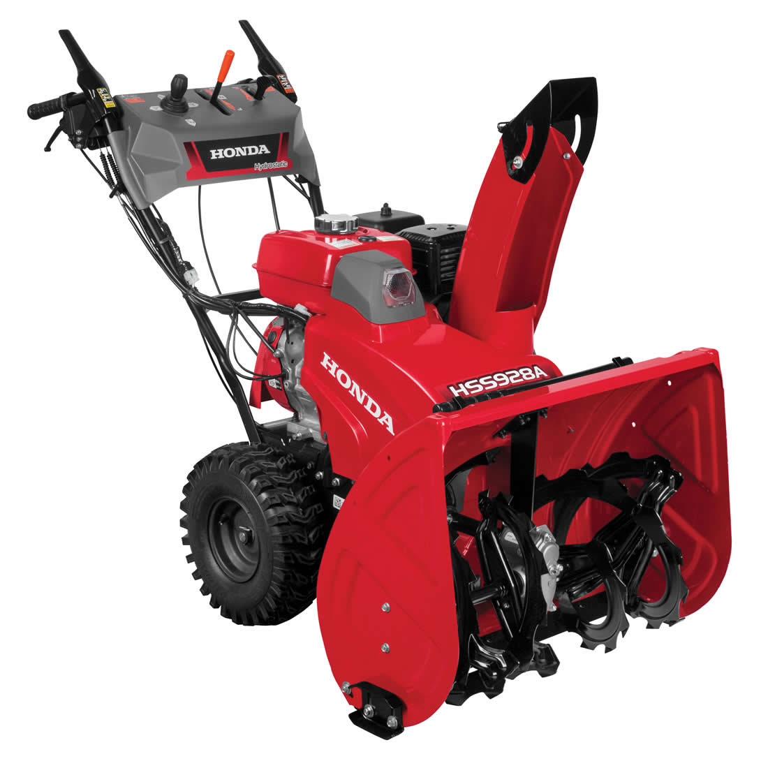 Picture of Honda HSS928AAW Snow Blower, Gas, 270 cc Engine Displacement, 4-Cycle OHV Engine, 2 -Stage, 52 ft Throw