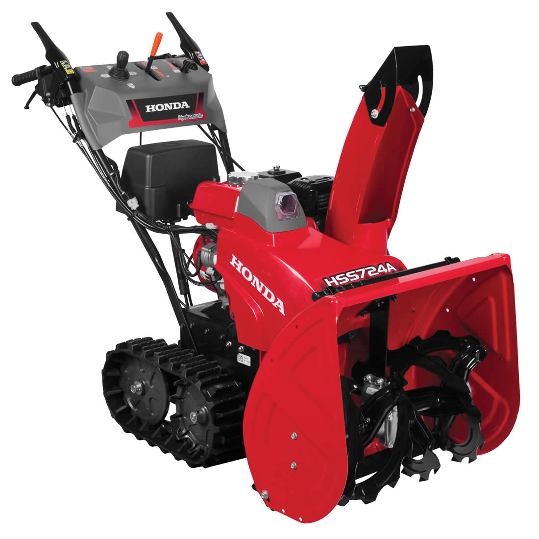 Picture of Honda HSS724AATD Snow Blower, Gas, 196 cc Engine Displacement, 4-Cycle OHV Engine, 2 -Stage, 49 ft Throw