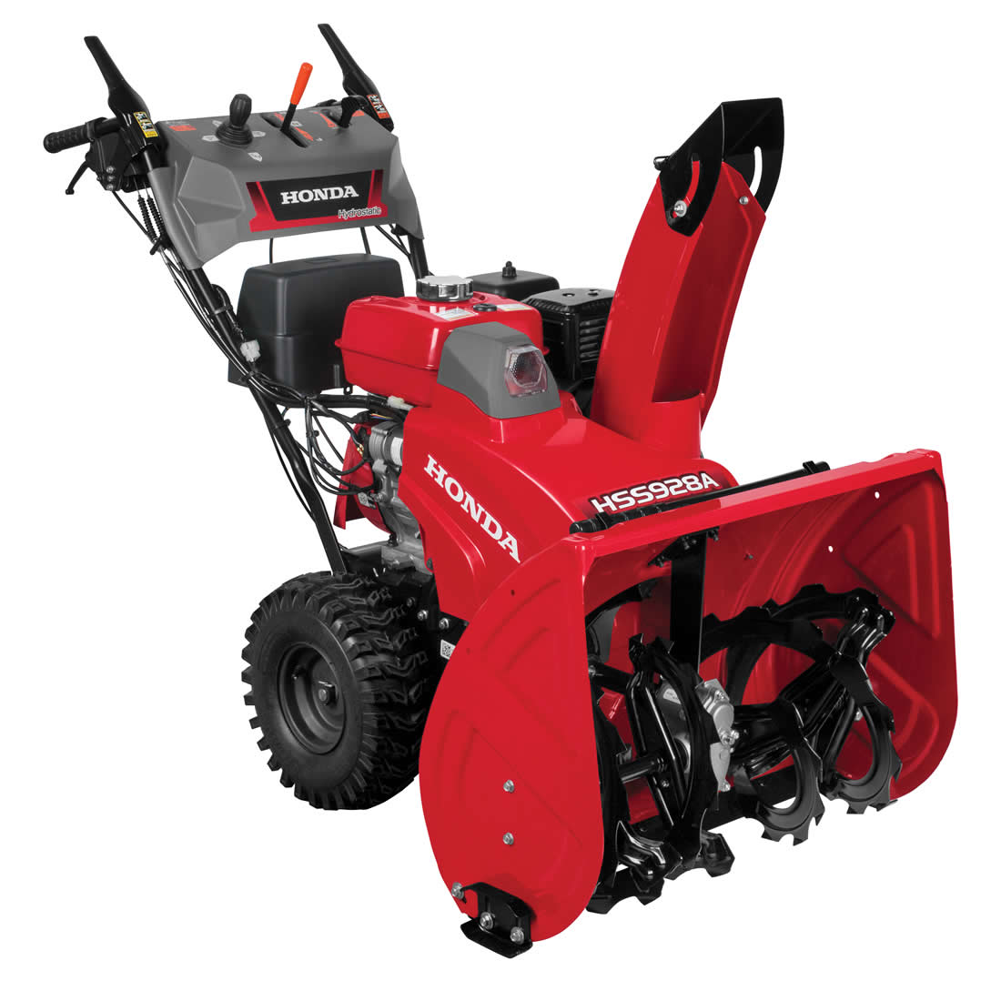 Picture of Honda HSS928AAWD Snow Blower, Gas, 270 cc Engine Displacement, 4-Cycle OHV Engine, 2 -Stage, 52 ft Throw