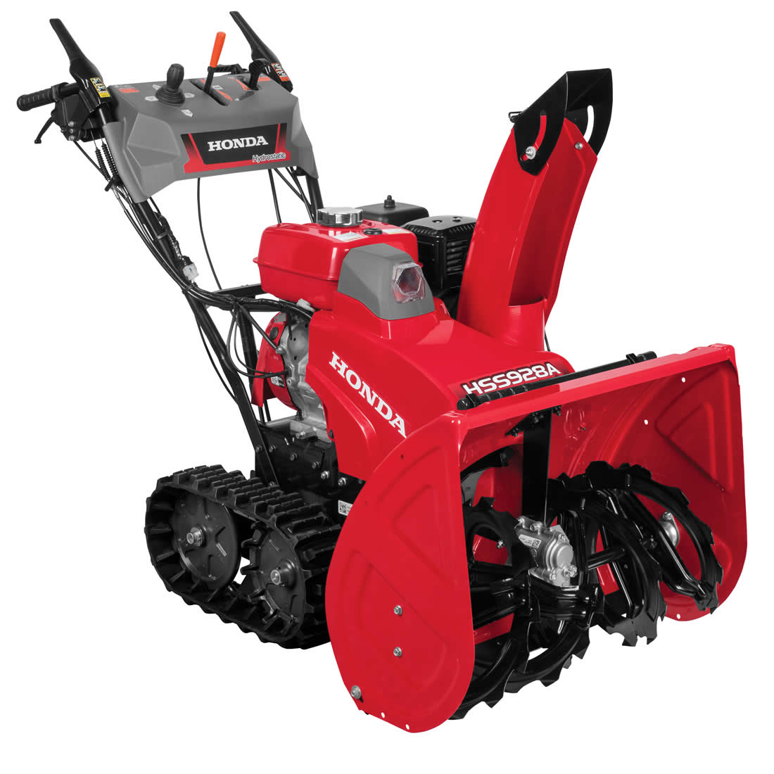 Picture of Honda HSS928AAT Snow Blower, Gas, 270 cc Engine Displacement, OHV Engine, 2 -Stage, 52 ft Throw