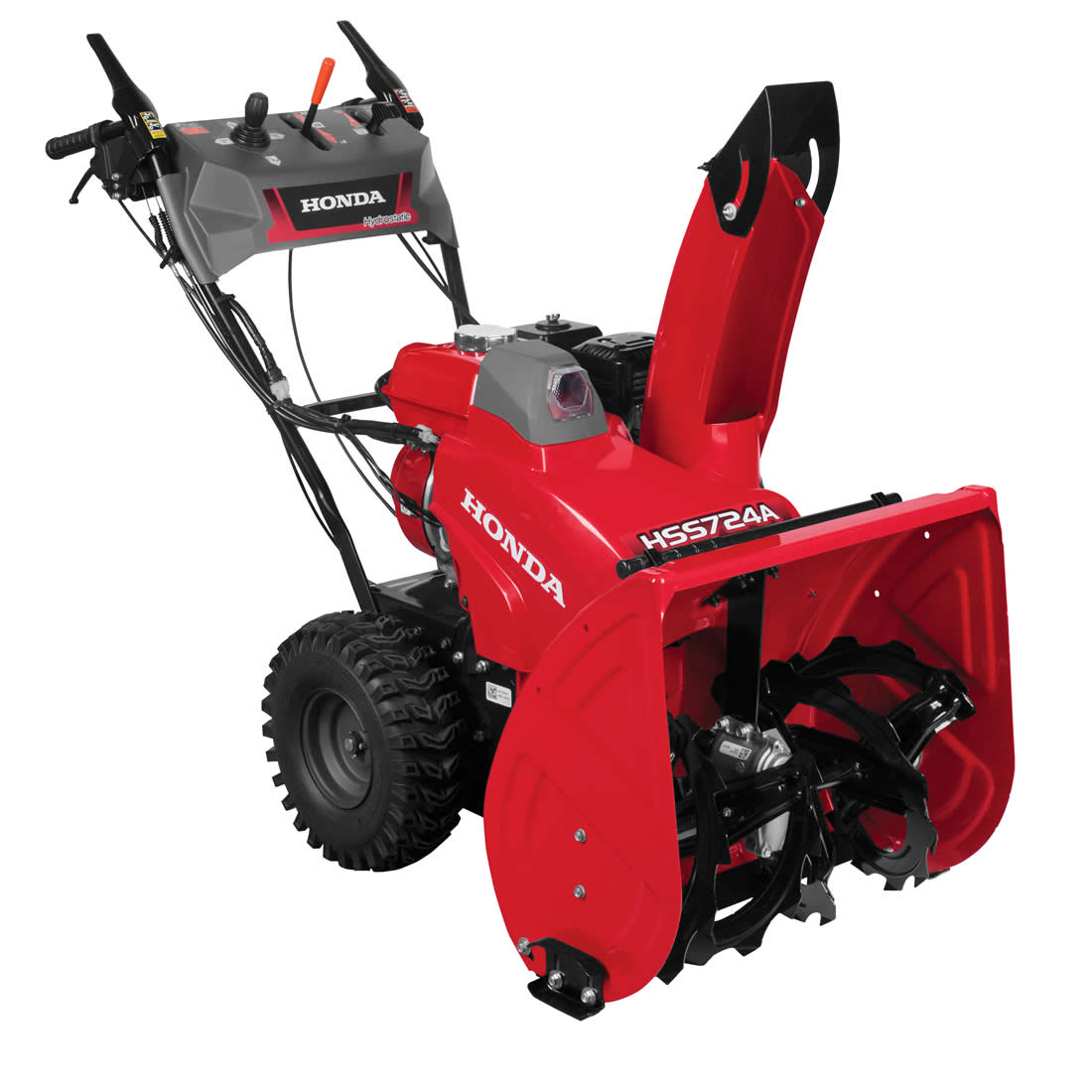 Picture of Honda HSS724AAW Snow Blower, Gas, 196 cc Engine Displacement, 4-Cycle OHV Engine, 2 -Stage, 49 ft Throw
