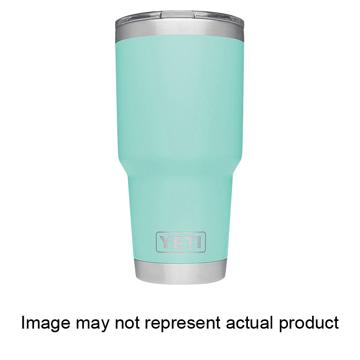 Picture of YETI Rambler 21071500054 Tumbler with Lid, 30 oz Capacity, MagSlider Lid, 18/8 Stainless Steel, Sand, Insulated
