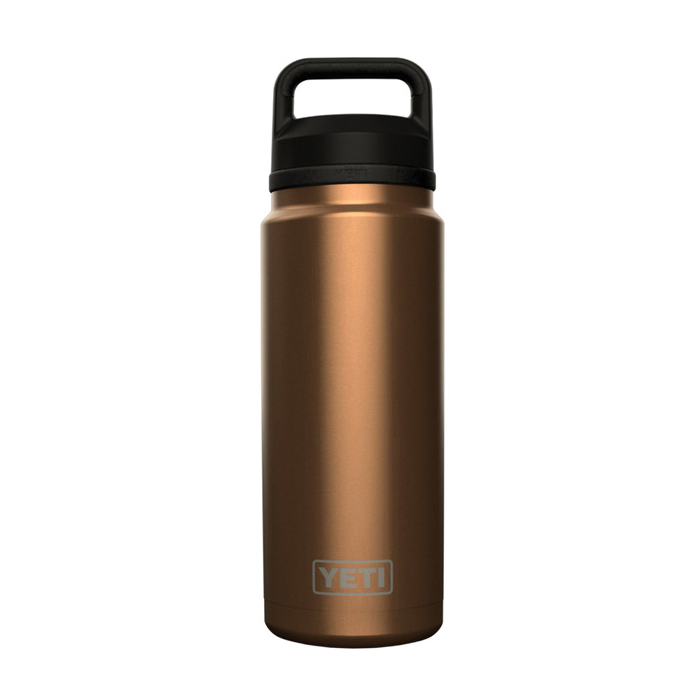 Picture of YETI Rambler 21071500038 Bottle with Chug Cap, 36 oz Capacity, 18/8 Stainless Steel, Canyon Red, Insulated
