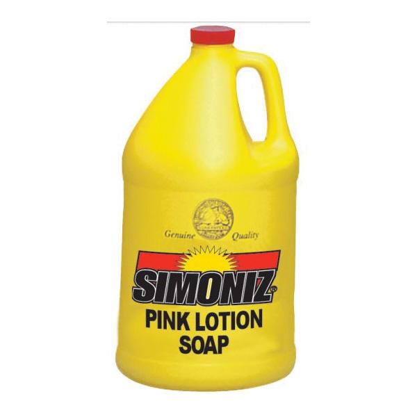Picture of Simoniz SZ-CS0225004 Hand Soap, Liquid, Pink, Pleasant, 1 gal Package
