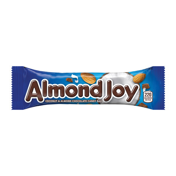 Picture of ALMOND JOY HEC00320 Candy Bar, 1.61 oz Package, Box
