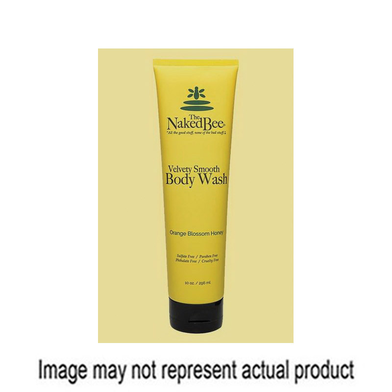Picture of The Naked Bee NBBW-LG Orange Blossom Honey Body Wash, 6.7 oz Package, Tube