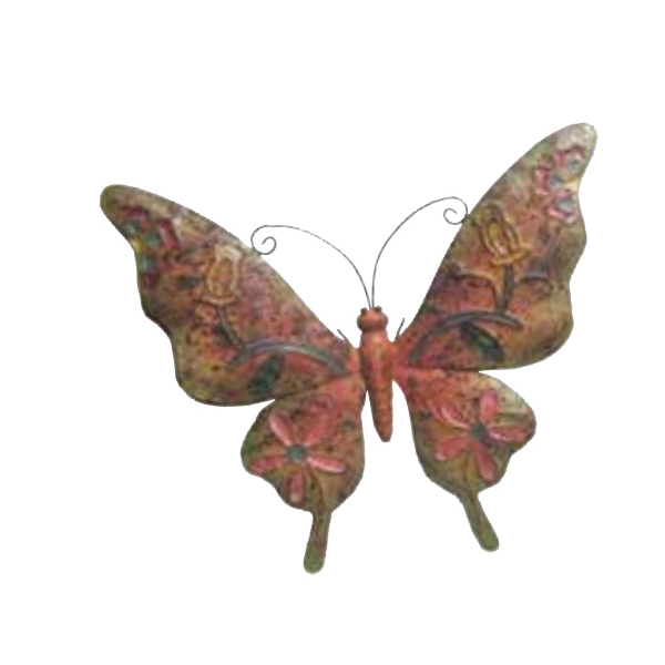 Picture of Very Cool Stuff V15 MRMB21 Rusted Butterfly Wall Decor, Metal