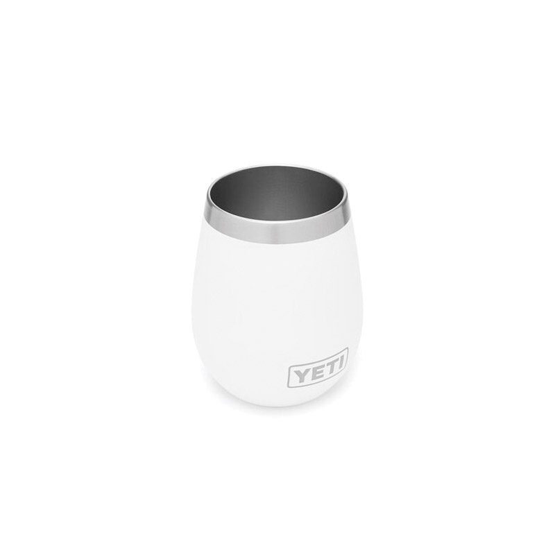 Picture of YETI Rambler 21071300066 Wine Tumbler, 10 oz Capacity, Stainless Steel, White, Insulated, 1