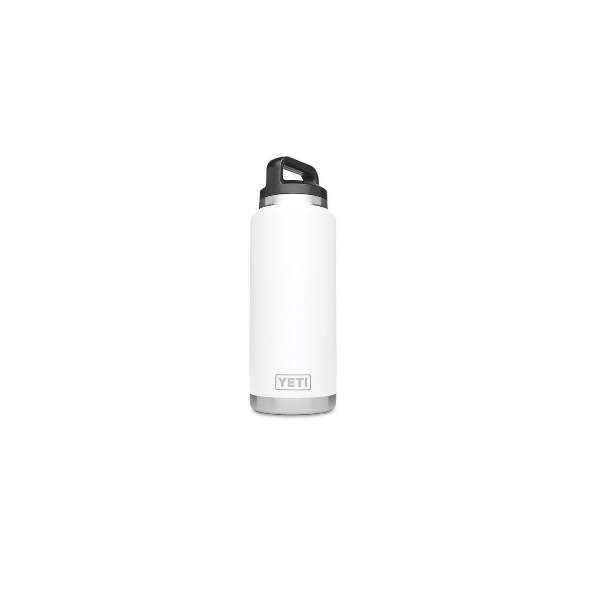 Picture of YETI Rambler 21071070008 Bottle, 36 oz Capacity, Stainless Steel, White