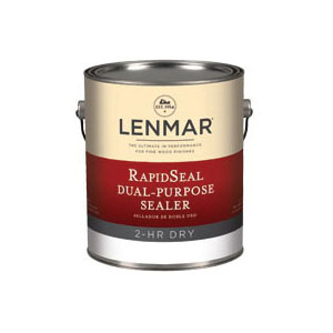Picture of Lenmar 1Y.519.4 Dual Purpose Sealer, Liquid, Clear, 1 qt