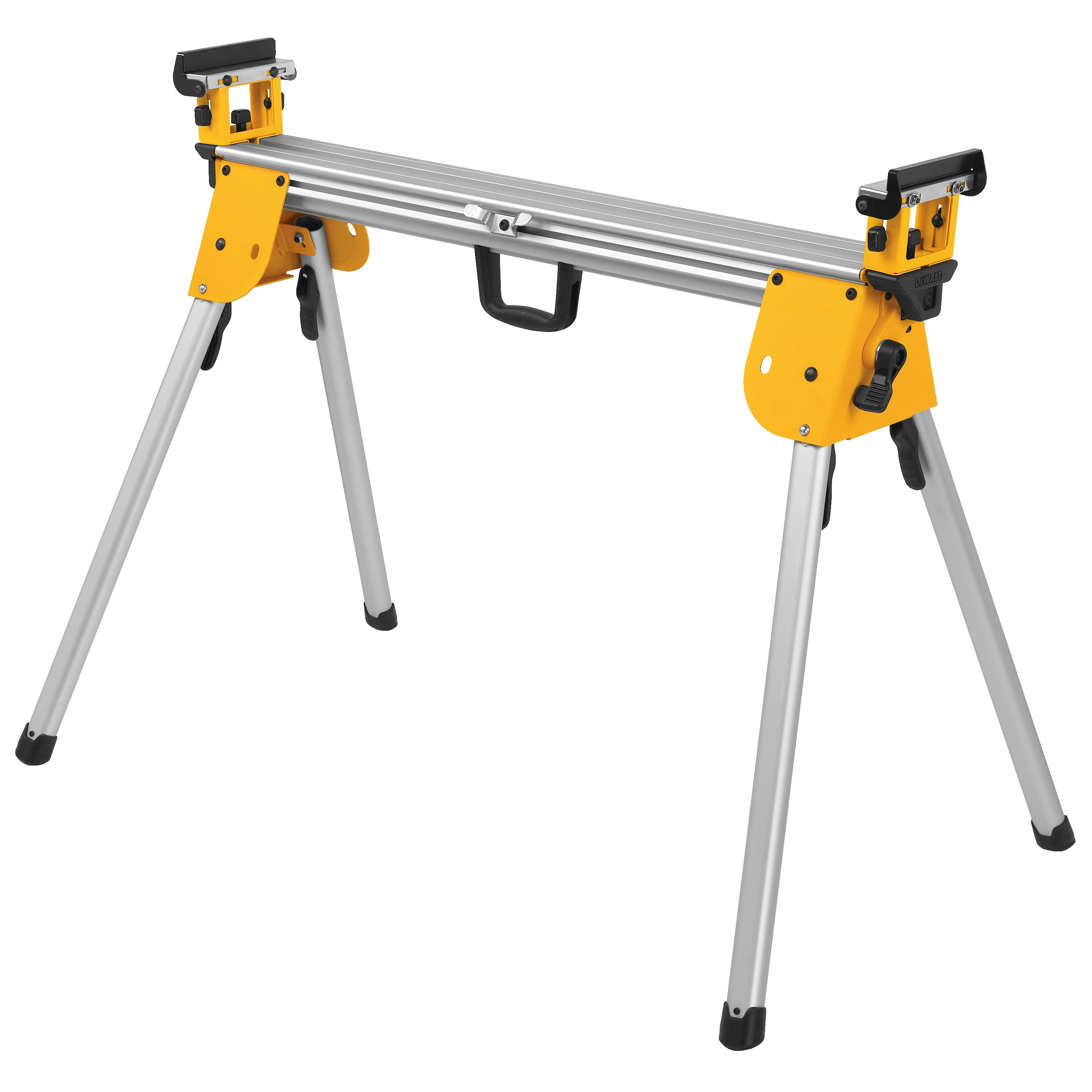 Picture of DeWALT DWX724 Miter Saw Stand, Aluminum, Black/Silver/Yellow