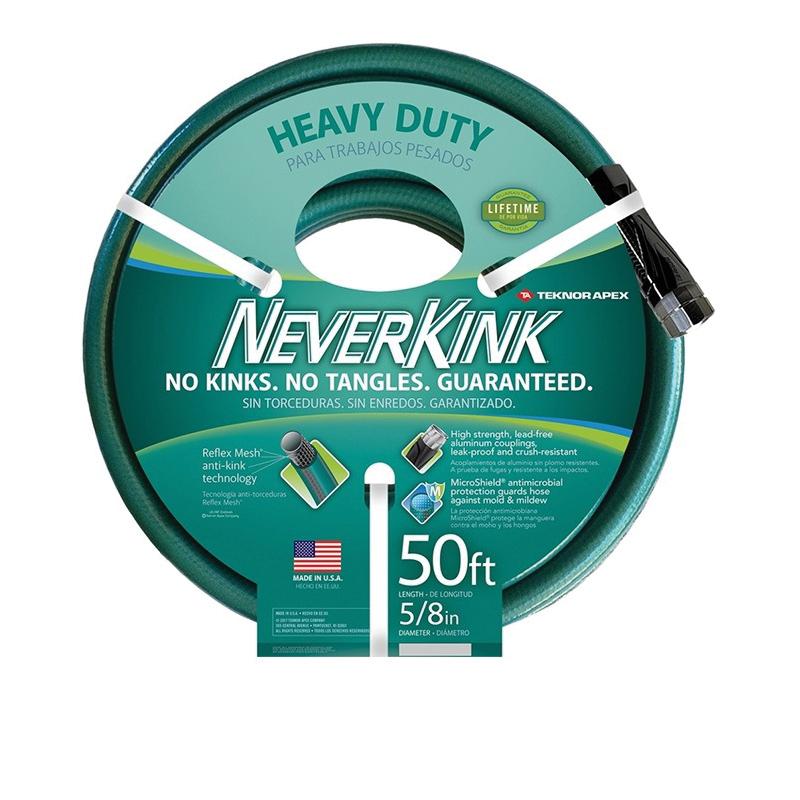 Picture of Neverkink 8615-100 Garden Hose, 100 ft L, Vinyl, Green