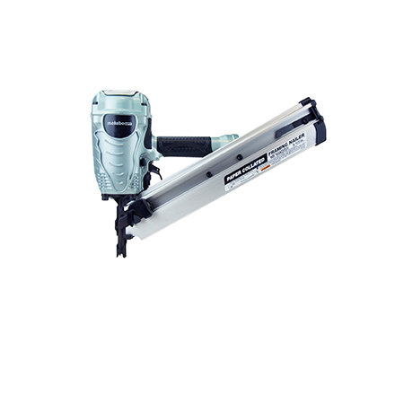 Picture of METABO NR90AE(S1) Pneumatic Nailer, 64 Magazine, Plastic Strip Collation, 0.09 scfm Air