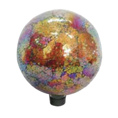 Picture of Very Cool Stuff V15 GLMCR102 Garden Globe, 10 in Dia, Glass, Copper/Red