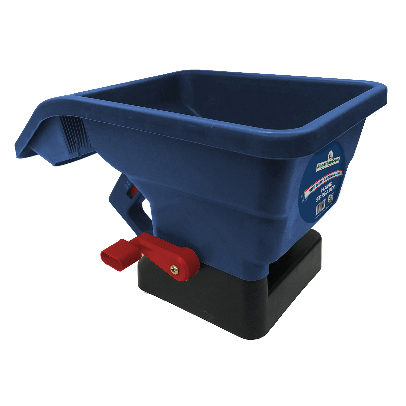 Picture of Jonathan Green 10941 Hand Spreader, 10 lb Capacity, 1000 sq-ft Coverage Area, Polypropylene