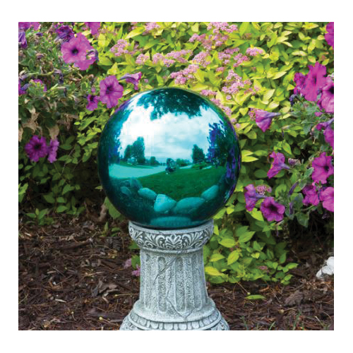 Picture of Echo Valley 8307 Mosaic Gazing Globe, 10 in Dia, Glass, Teal
