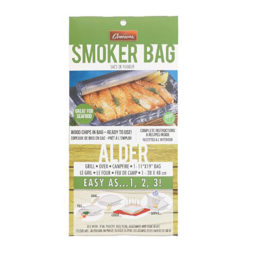 Picture of Camerons Products ASB Smoker Bag, Aluminum