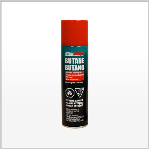 Picture of MagTorch MT 150 B Butane Cylinder, Butane, 5.6 oz Package