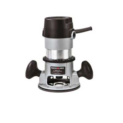 Picture of PORTER-CABLE 690LR Fixed Based Router, 120 V, 11 A, 1/4, 1/2 in Collect, 27,500 rpm No Load
