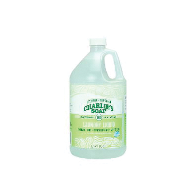Picture of CHARLIE'S SOAP 21401 Laundry Detergent, 1 gal, Pack, Liquid, Sweet