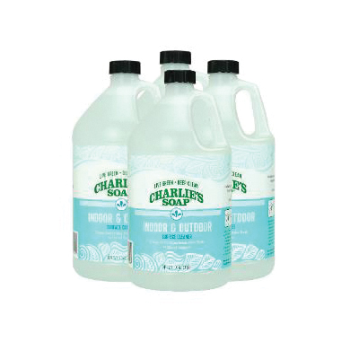 Picture of CHARLIE'S SOAP 11404 Surface Cleaner, 1 gal Package, Pack, Liquid, Sweet, Clear