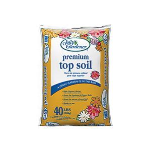 Picture of Jolly Gardener 65/PALLET Premium Top Soil, 40 lb Package, Bag