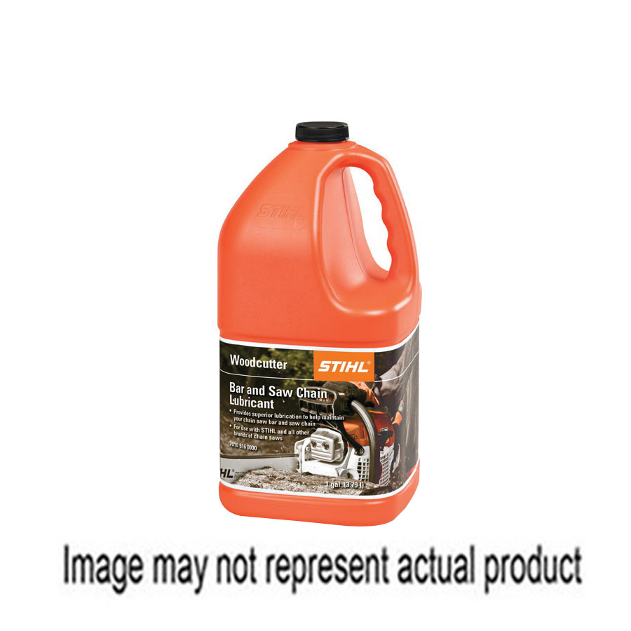 Picture of STIHL 7010 871 0240 Woodcutter Bar and Chain Oil, Straw, >200 deg F Flash, 1 gal Package