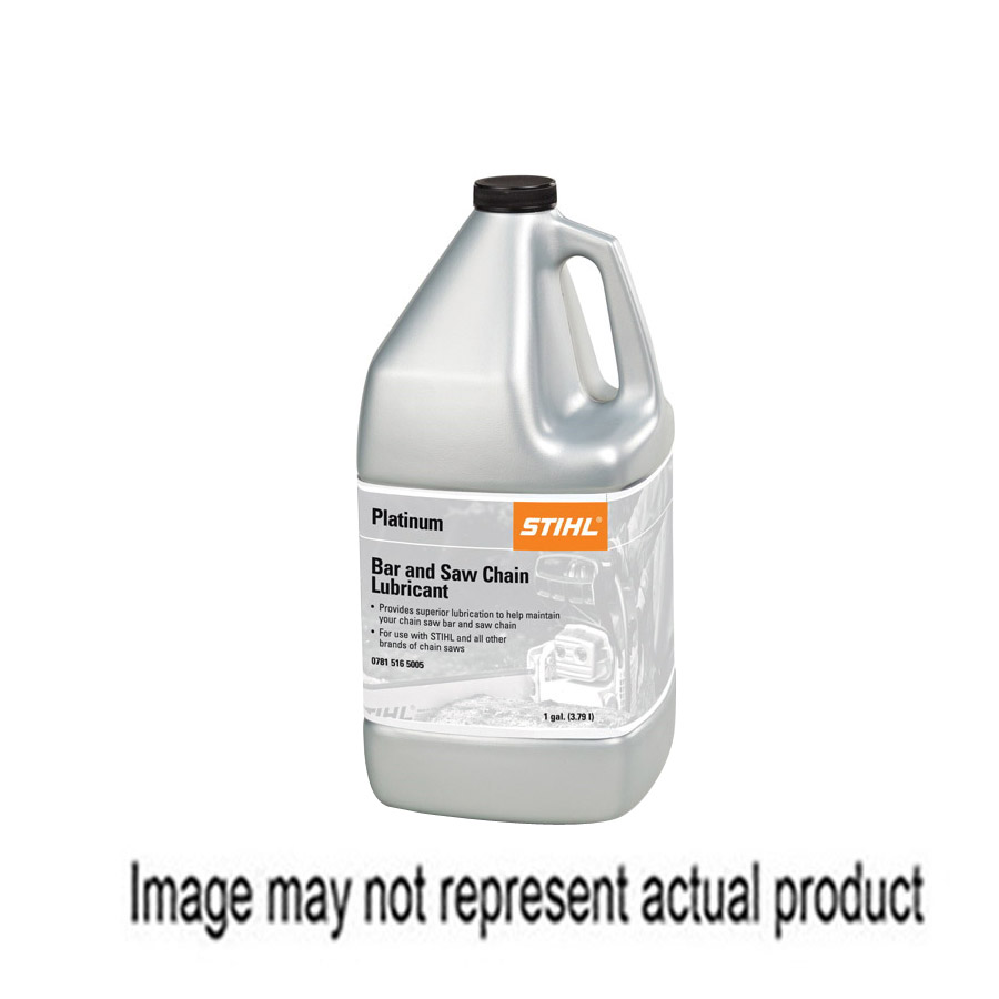 Picture of STIHL 0781 516 5001 Platinum Bar and Chain Oil, Straw, >200 deg F Flash, 1 qt Package, Bottle