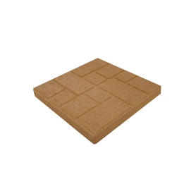 Picture of SOIL DOCTOR 10150471 Cobblestone Paving Stone, 16 in L, 16 in W, Beige